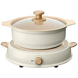 アイリスオーヤマ 卓上型IH調理器鍋セット 「ricopa」(1口) IHLPR14‐C (ホワイト)