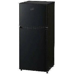 ハイアール 2ドア冷蔵庫(121L・右開き)「Haier Think Series」 JR‐N121A‐K (ブラック)(標準設置無料)
