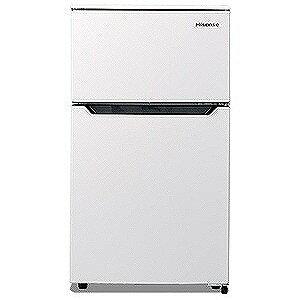 ハイセンス 2ドア冷蔵庫(93L・右開きタイプ) HR‐B95A‐W (ホワイト)(標準設置無料)