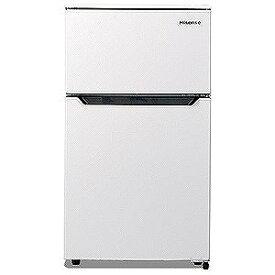 ハイセンス 2ドア冷蔵庫(93L・右開きタイプ) HR‐B95A‐W (ホワイト) (標準設置無料)