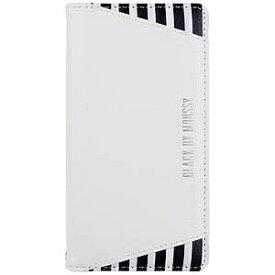 エムディーシー iPhone 7用 BLACK BY MOUSSY 手帳型ケース 2016IP−72142 ストライプ・ホワイト