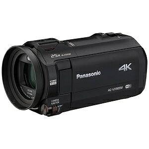 パナソニック SD対応 64GBメモリー内蔵デジタル4Kビデオカメラ(ブラック) HC−VX985M−K(送料無料)