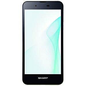 シャープ SIMフリースマートフォン AQUOS Android6.0 5.0型nano×1 SH‐M04‐AA ネイビー(送料無料)