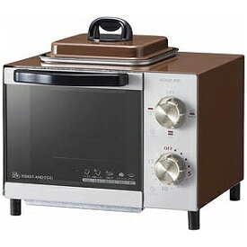 小泉成器 オーブントースター [800W/食パン1枚] KOS‐0703‐T ブラウン