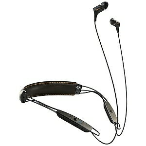Klipsch ブルートゥースイヤホン カナル型 革製ネックバンド R6 Bluetooth Neckband KLNBR60111(ブラック)
