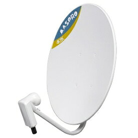 マスプロ 4K・8K衛星放送対応 BS・110度CS デジタルアンテナ BC45RL(金具別売)