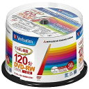 三菱ケミカルメディア 録画用DVD−RW 1−2倍速 50枚(インクジェットプリンタ対応) VHW12NP50SV1