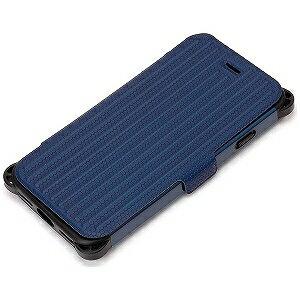 PGA iPhone 7用 タフフリップカバー PG‐16MFP30NV ネイビー
