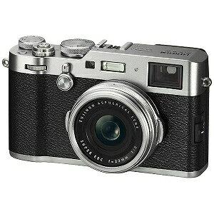 富士フィルム コンパクトデジタルカメラ FUJIFILM X100F (シルバー)(送料無料)