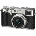 富士フイルム コンパクトデジタルカメラ FUJIFILM X100F (シルバー)