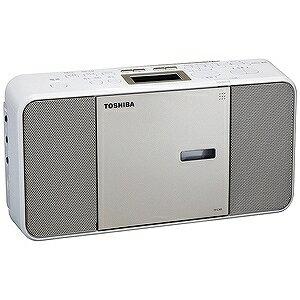 東芝 「ワイドFM対応」CDラジオ(ラジオ+CD) TY−C300(N)サテンゴールド(送料無料)
