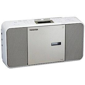 東芝 「ワイドFM対応」CDラジオ(ラジオ+CD) TY−C300(N)サテンゴールド