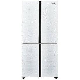ハイアール 4ドア冷蔵庫(468L・フレンチドア) JR−NF468A−W (ホワイト) (標準設置無料)
