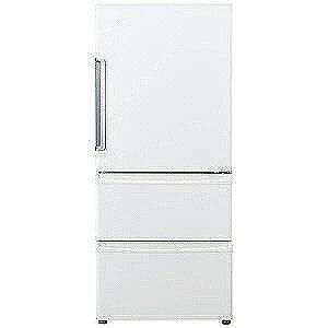 AQUA 3ドア冷蔵庫(272L・右開き) AQR−271F−W (ナチュラルホワイト)(標準設置無料)