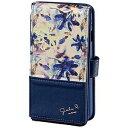 サンクレスト iPhone 7用 GIRLSi ダイアリーカバー スタンドミラー iP7−GI09 ミラーネイビー