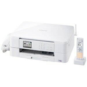ブラザー 【子機1台】A4インクジェットFAX複合機「PRIVIO(プビリオ)」 MFC−J737DN (ホワイト)(送料無料)