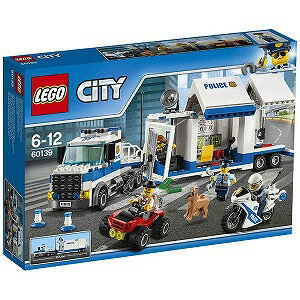 LEGO レゴブロック 60139 シティ ポリストラック司令本部