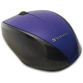 三菱ケミカルメディア ワイヤレスBlue LEDマウス(3ボタン・パープル) MUSWBLVV3