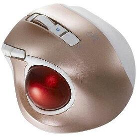 ナカバヤシ ワイヤレスレーザートラックボール 静音・コンパクトモデル(5ボタン・ピンク) MUS−TBLF134P