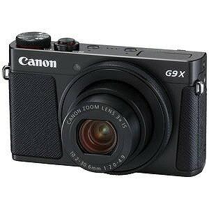 Canon コンパクトデジタルカメラ PowerShot G9 X Mark II ブラック PSG9XMARKIIBK(送料無料)