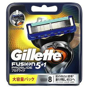 ジレット ジレット フュージョン 5+1 プログライド フレックスボール マニュアル 替刃 8個入 GRプログライドマニユアルカエ8B