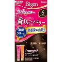 ホーユー 【Bigen】香りのヘアカラー クリーム 6 ダークブラウン ビゲンカオリクリーム6