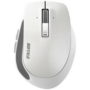 バッファロー ワイヤレスBlueLEDマウス Sサイズ(5ボタン・ホワイト) BSMBW500SWH