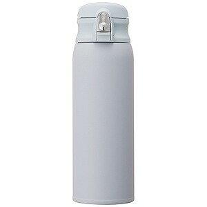 ドウシシャ ステンレスボトル「ふわふわAirワンタッチボトル」(0.48L) DMFO480BL (ソラ)