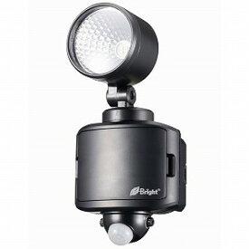 オーム電機 LEDセンサーライト 乾電池式 1灯 LS−B145B−K