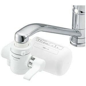 パナソニック 蛇口直結型浄水器 TK−CJ12−W (ホワイト)(送料無料)