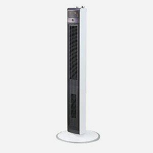 小泉成器 DCモーター搭載 タワー型扇風機  KHF1271W(W(送料無料)