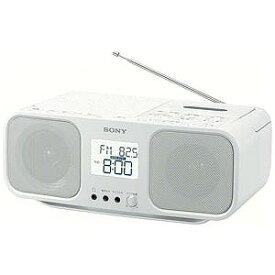 ソニー CDラジカセ CFD−S401 WC(ホワイト)