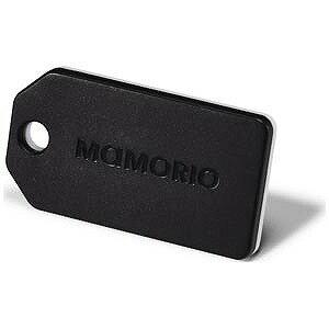 〔iOS/Androidアプリ〕 紛失防止タグ MAMORIO ブラック MAMORIO BLACK