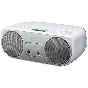 東芝 ワイドFM対応CDラジオ (ラジオ+CD) TY−C150S (シルバー)