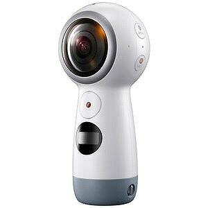 サムスン マイクロSD対応ウェアラブルカメラ Galaxy Gear 360  SMR210NZWAXJP(送料無料)