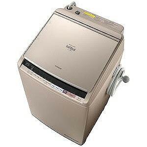 日立 洗濯乾燥機 (洗濯10.0kg/乾燥5.5kg)「ビートウォッシュ」 BW−DV100B−N (シャンパン)(標準設置無料)