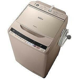 日立 全自動洗濯機 (洗濯10.0kg)「ビートウォッシュ」 BW−V100B−N (シャンパン)(標準設置無料)