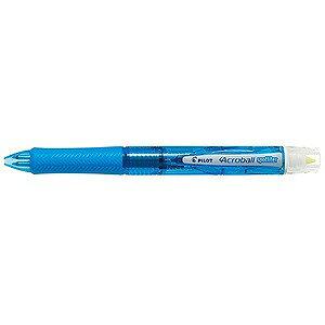 パイロット [多機能ペン]アクロボールスポットライター クリアソフトブルー 蛍光ペンイエロー色