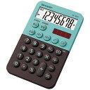 シャープ ミニミニナイスサイズ電卓(8桁) EL−760R−GX (グリーン系)