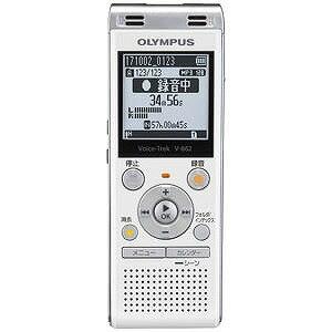 オリンパス ICレコーダー Voice Trek V−862 WHT(ホワイト)(送料無料)