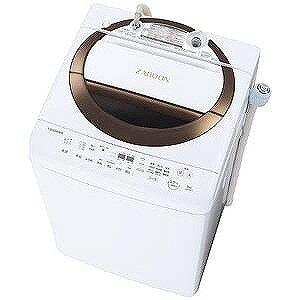 東芝 全自動洗濯機 (洗濯6.0kg) ZABOON AW−6D6−T ブラウン(標準設置無料)