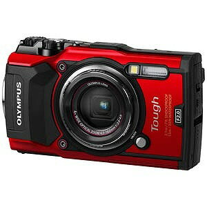 オリンパス コンパクトデジタルカメラ Tough(タフ) TG−5(レッド)