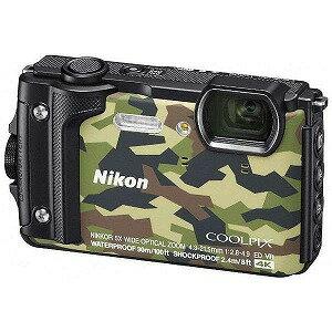 ニコン コンパクトデジタルカメラ COOLPIX(クールピクス) W300(カムフラージュ)(送料無料)