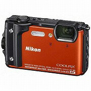 ニコン コンパクトデジタルカメラ COOLPIX(クールピクス) W300(オレンジ)
