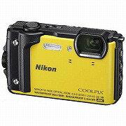 ニコン コンパクトデジタルカメラ COOLPIX(クールピクス) W300(イエロー)(送料無料)