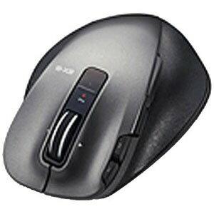 エレコム ワイヤレスレーザーマウス 静音EX−G Ultimate Laser Mサイズ(8ボタン) M‐XGM20DLSBK (ブラック)
