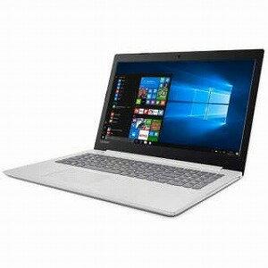 LENOVO 15.6型ノートPC[Office付き・Win10 Home・Celeron] Lenovo ideapad 320 ブリザードホワイト 80XR00A0JP(送料無料)
