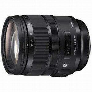 シグマ 一眼レフ用交換レンズ 24−70mm F2.8 DG HSM Art【キヤノンEFマウント】