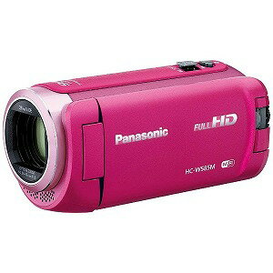 パナソニック SD対応 64GBメモリー内蔵フルハイビジョンビデオカメラ HC−W585M−P(ピンク)(送料無料)