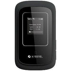 FREETEL SIMフリー 標準SIMx1モバイルルータ LTE/Wi−Fi ARIA 2 FTJ162A−ARIA2−BK ブラック(送料無料)
